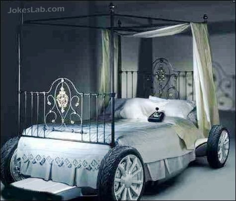 funny car bed