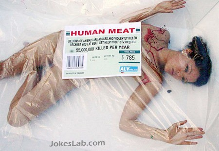 funny human meat